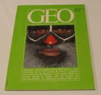 GEO N°23 (01/1981) : Papouasie, Des Masques De Beauté - Geography