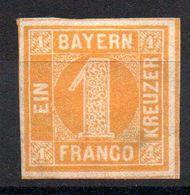 BAVIERE - BAYERN - YT N° 9 - Neuf Sg - Cote: 90,00 € - Bayern