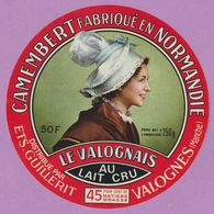 étiquette Fromage °_ Camembert Le Valognais-Valogne-11 Cm ° NEUVE - Cheese