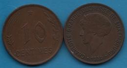 Luxembourg  LOT 2x 10 CENTIMES 1930 CHARLOTTE GRANDE-DUCHESSE  KM# 41 - Luxembourg