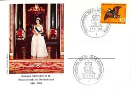 [404808]B/TB//-Allemagne 1965 - Elisabeth II, Familles Royales - FDC: Briefe