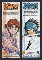 -185 -  DELCOURT Ed. : YAKITATE JAPAN - LOT 2 MARQUE PAGE - Marque-Pages