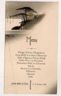 1921 MENU DU GRAND HOTEL DE PEKIN CHINE  C393 - Menükarten