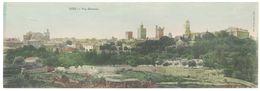 Cpa Format Panoramique Uzès - Vue Générale - Uzès