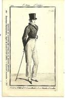 Costume Parisien Un Homme Au Chapeau (DE LOUIS XVI Au Second Empire ) Costume Masculin  -  ND - Mode