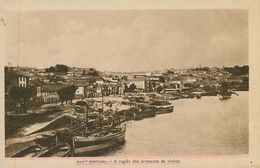 VILA NOVA DE GAIA - A Região Dos Armazens De Vinhos. ( Ed. Araújo & Sobrinho)  Carte Postale - Porto