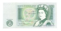 United Kingdom / Great Britain - Elizabeth II - 1 Pound - UNC - 1 Pound