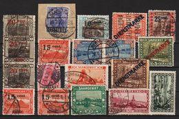 Saargebiet  (0553) - Lots & Kiloware (mixtures) - Max. 999 Stamps