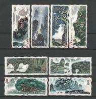 China 1980 Landscapes Y.T. 2358/2365 (0) - 1949 - ... Repubblica Popolare