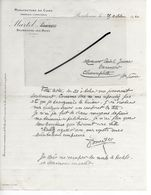 52 - Haute-marne - BOURBONNE-LES-BAINS - Facture MARTEL - Tannerie, Corroierie, Manufacture De Cuirs - 1920 - REF 293 - France