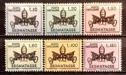 Vatikan Scott J19-J24 Postfrisch MNH (9625) - Postage Due