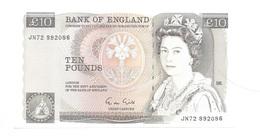 United Kingdom / Great Britain - Elizabeth II - 10 Pounds - UNC - 10 Pounds