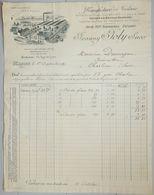 ANCIENNE FACTURE MACON SAÔNE ET LOIRE 1931 JOANNY JOLY MANUFACTURE DE TOLERIE CUIVRERIE - France