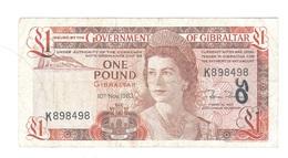 Gibraltar - Elizabeth II - 1 Pound - Gibraltar