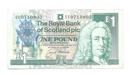United Kingdom / Great Britain - Elizabeth II - 1 Pound - Royal Bank Of Scotland - 1 Pound
