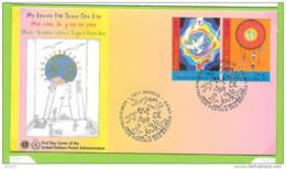 2005 - 41 - 537 / 538 - Journée Mondiale De La Paix - FDC