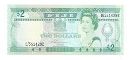 Fiji - Elizabeth II - 2 Dollars - Fidschi