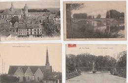 20 / 6 / 44  -  Lot. De. 400  CPA / CPSM  DU  DÉPART.  72 ( SARTHE) À. 21 €  PLUS  ( PORT DE  8€ ,95 Pour La France ) 21 - Postcards