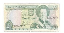 Jersey - Elizabeth II - 1 Pound - 1 Pound