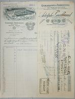 ANCIENNE FACTURE LYON 1929 ADOLPHE GUITTAUD QUINCAILLERIE FERRONNERIE - France