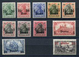 Deutsche Post In Der Türkei Mi Nr. 36-46* - Katalogpreis 230Euro - Bureau: Turquie