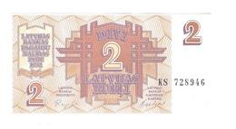 Latvia - 2 Rubli - UNC - Latvia