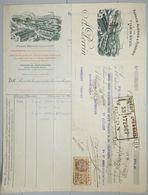 ANCIENNE FACTURE TILCHATEL COTE D'OR 1929 A PERRIN FORGES ACIERIES FONDERIE - France