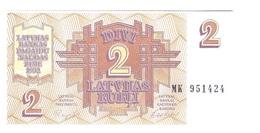 Latvia - 2 Rubli - UNC - Letland