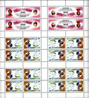 ST.VINCENT Grenadines Diana Wedding HMY Mary Yacht $3 UNCUT COMPLETE SHEET:20 Stamps - St.Vincent & Grenadines