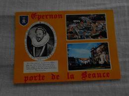 Epernon Porte De La Beauce - Le Duc D'Epernon, Vue Générale Et Le Prieuré - Epernon