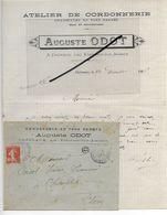 52 - Haute-marne - CHEZEAUX - Facture ODOT - Cordonnerie, Chaussures - 1906 - REF 293 - France