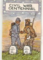 """Civil War Centennial"" Nice American Postcard 1960s - Histoire"