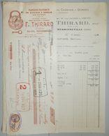 ANCIENNE FACTURE FRESSENNEVILLE SOMME 1932 F THIRARD MANUFACTURE DE CADENAS - France