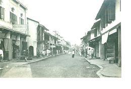 Sumatra Palembang - De Pasarstraat Photo Postcard - Indonesia