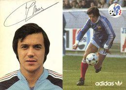 Autographe Emon Albert  Equipe De France  Football Adidas RV - Soccer