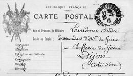 CP-   3 Drapeaux - - Storia Postale