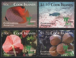 Cook-Inseln 2010 - Mi-Nr. 1652-1655 ** - MNH - Fische / Fish - Cook Islands