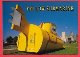 Yellow Submarine Statue Liverpool Sous Marin Jaune - Liverpool