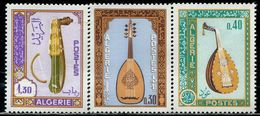 BW0912 Algeria 1968 National Musical Instruments 3V MNH - Musique