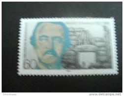 De137a-  Stamp  -MNH Germany-1990- -SC.  1615- Heinrich Schliemann- Archaelogist - Archéologie