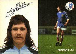 Autographe Berdoll Marc   Equipe De France  Football Adidas RV - Soccer
