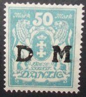 N°2312H BRIEFMARKE DEUTSCHES REICH DANZIG NEU OHNE FALZ - Dantzig