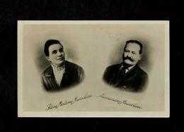 "Cartolina Cartolina Fotografica Rosa & Alessandro Mussolini - Timbro ""Casa Dove Nacque Il Duce"" - History, Biography, Philosophy"
