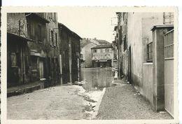 PHOTO A IDENTIFIER....   INONDATIONS  ( PEUT-ETRE VILLEFRANCHE ?  ) - Postcards