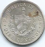 Cuba - 10 Centavos - 1949 - KMA12 - Cuba