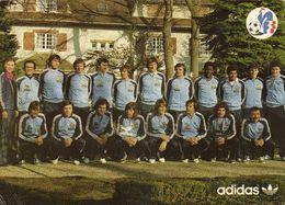 Equipe De France Les Joueurs Selectionnés Pour France Luxembourg Du 25 Fev 1979  RV  Joueurs Nommés - Soccer