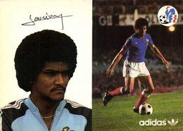 Autographe Janvion Gérard    Equipe De France  Football Adidas RV - Soccer