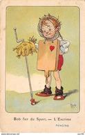 Illustrateur - N°64528 - Mich - Bob Fait Du Sport 7061 N°1 De La Série De 10 Cartes - L'Escrime - Mich