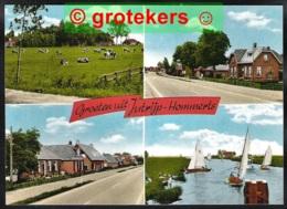 JUTRIJP-HOMMERTS Groeten Uit 4-luik ± 1978 - Netherlands
