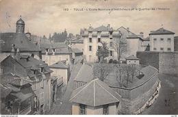 19 .n° 109619 .  Tulle . L Ecole D Instituteurs Et Le Quartier De L Hospice . - Tulle